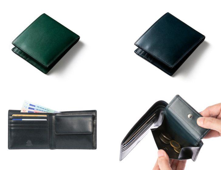 プルキャラック二つ折り財布