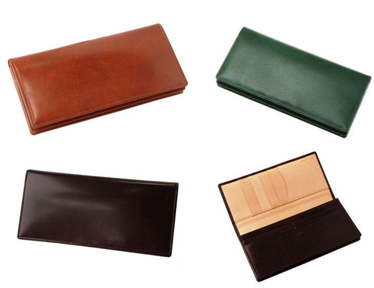長財布(小銭入れ付き通しマチ束入)