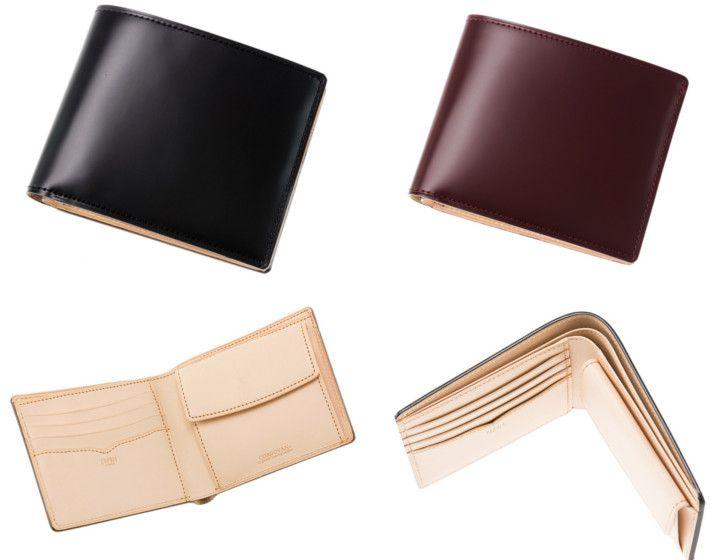 コードンバン二つ折り財布