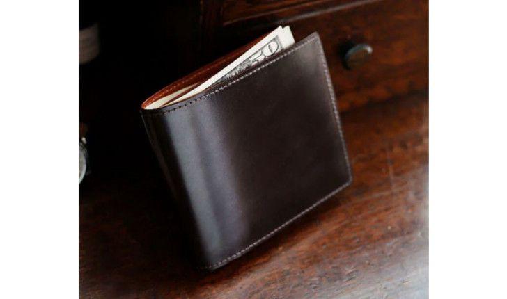 ブライドル 二折り財布
