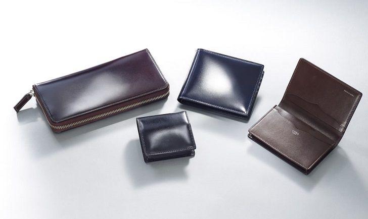 キプリスのコードバン財布