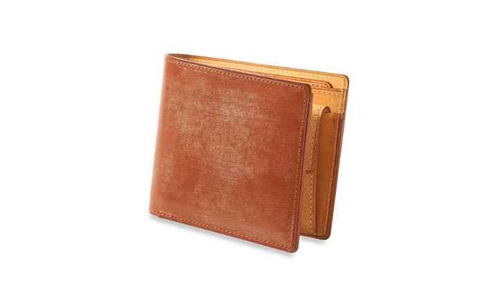 シンブライドル小銭入れ付き二つ折り財布