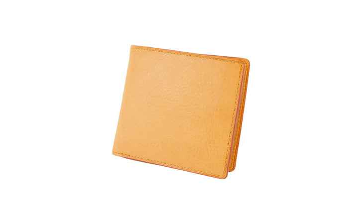 ミネルバナチュラル小銭入れ付き二つ折り財布