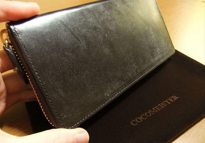 ブルームの出た新品のブライドル長財布