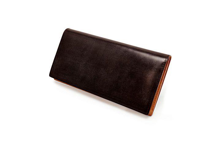 シンブライドル・ファスナー小銭入れ付き長財布