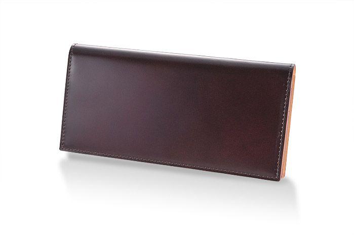 コードバン)通しマチ長財布