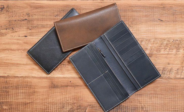 カウレザー長財布