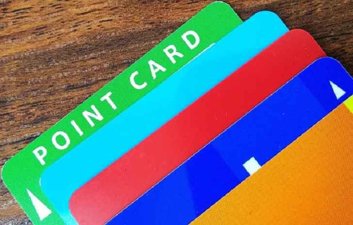 ポイントカード類の再発行